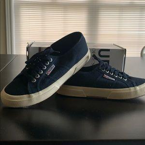 Superga navy sneakers size 9 (40 EUR)